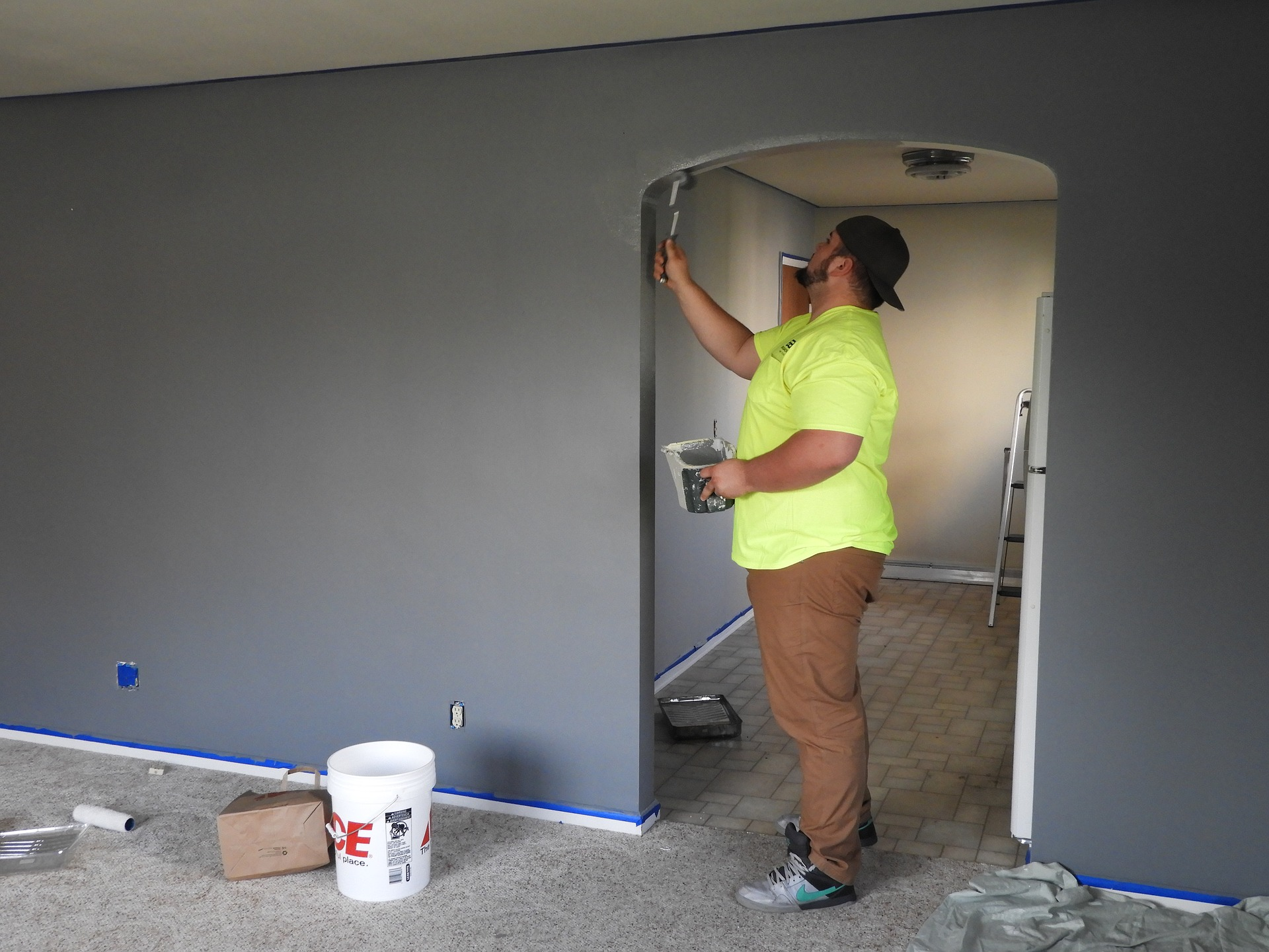 indoor painting in kenosha, interior painitng kenosha, painting company kenosha